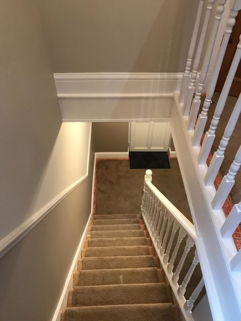 Hallway & Staircase in Edgware 1